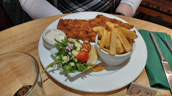 Galashiels, UK: Fish and Chips