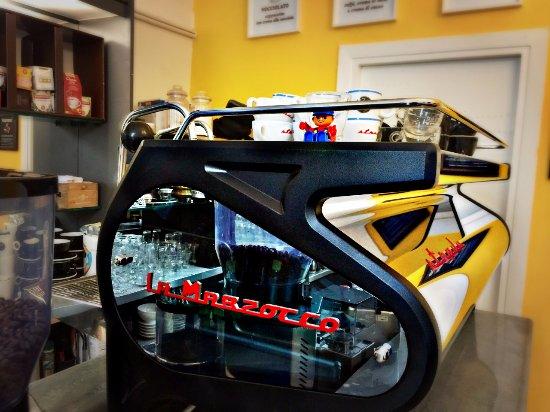 Our Coffee Machine La Marzocco Strada Picture Of Koru