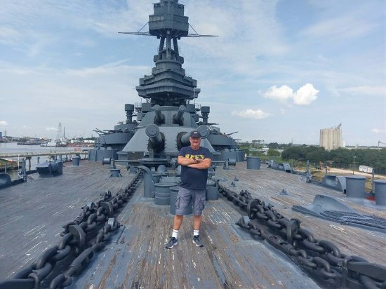 Battleship texas state historic site tourist attraction for Attractions in la porte tx