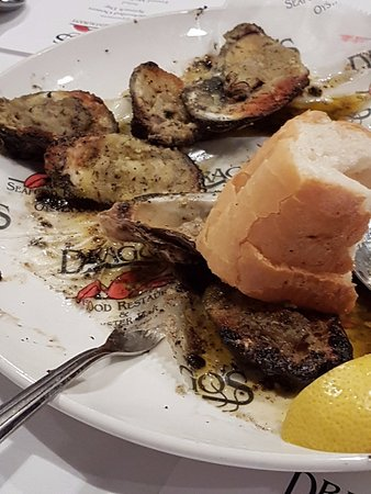 Drago S Seafood Restaurant Grillowane Ostrygi