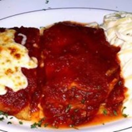 Rural Valley, PA: Italian Sampler with Lasagna Chicken Parm and Fettuccine Alfredo