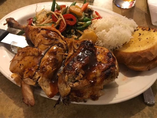 Red Sky BBQ: I had Jamaican Jerk Chicken