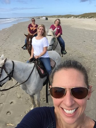 Frisco, NC: Equine Adventures