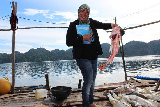 Central Sulawesi, Indonesia: Ikan segar Pulau Khayangan Sombori