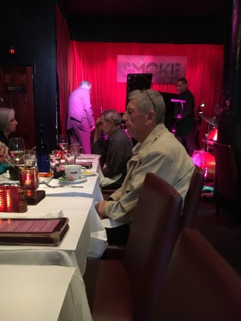 Smoke Jazz Club: The intimate stage of the Smoke Jazz Supper Club