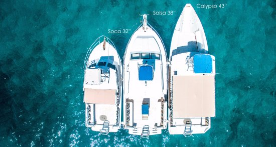 Grand Anse, Grenada: Our fleet