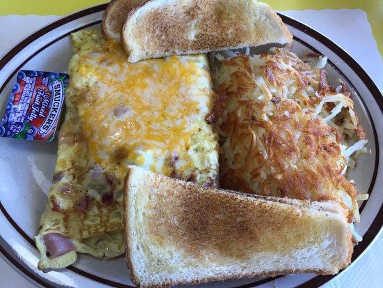 Garrison, MN: Omelet