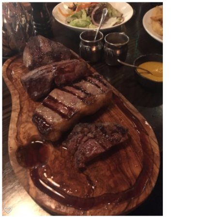 Gerrards Cross, UK: Steak taster for 2