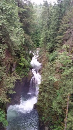 North Vancouver, Canada: One of the falls
