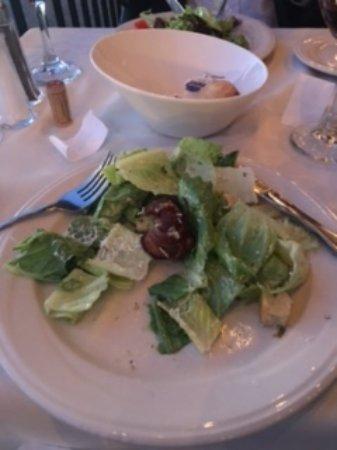 La Focaccia: Caesar Salad