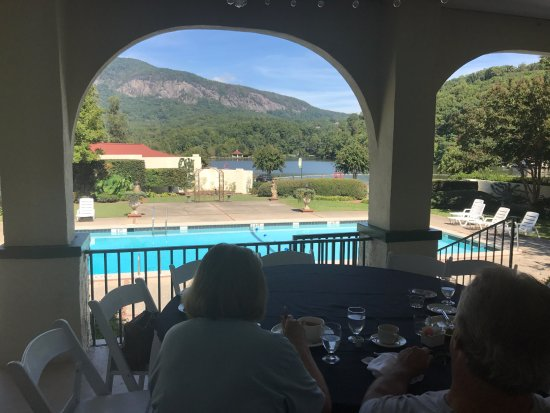 Lake Lure, NC: View from the veranda