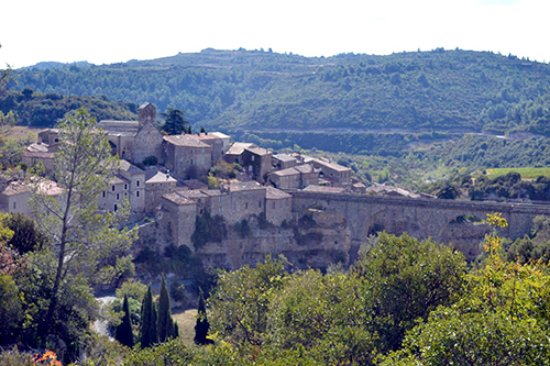 View entering Minerve