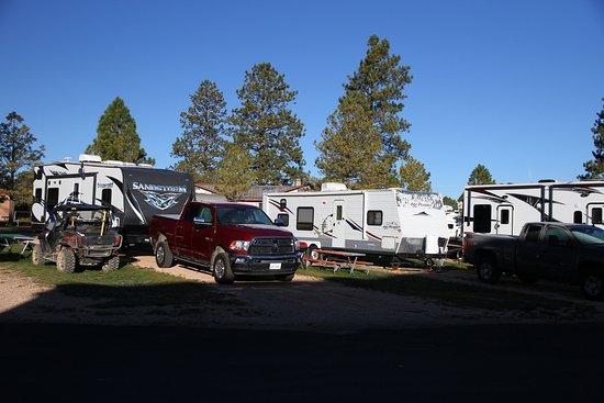 Altavista, VA: Parking de l'hotel et camping cars