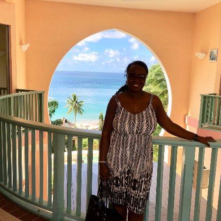 Cap Estate, Saint Lucia: View after my spa services