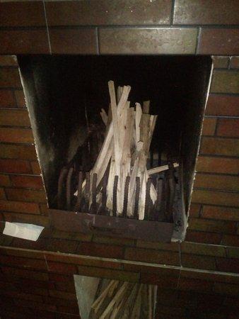 Hotel Lakeview: Bon fire...