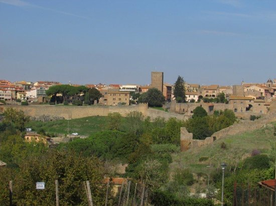 View of Tuscania from San Pietro
