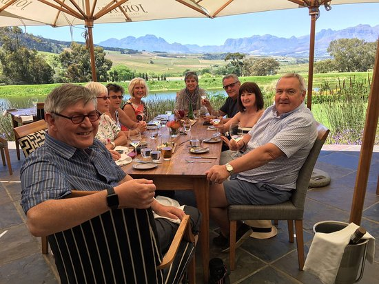 Cape Town Central, South Africa: Lunch at Jordan wine estate
