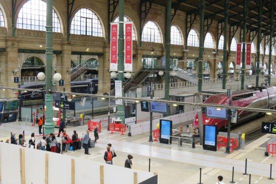 Photo de gare du nord paris tripadvisor for Agence avis gare du nord