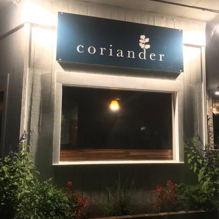 Middlebury, VT: Coriander
