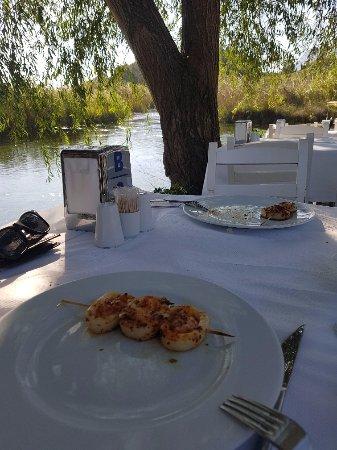 Orfoz Restaurant: Kalamar Karides Şiş