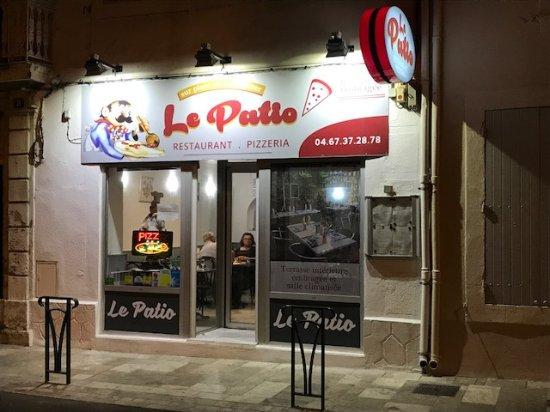Nissan-lez-Enserune, ฝรั่งเศส: Sieht nach einer einfachen Pizzeria aus, bietet aber weitaus mehr!