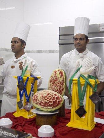 Embudu Village: Awards for the chefs