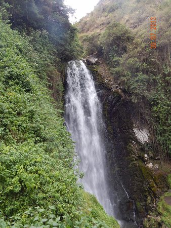 Peguche waterfall