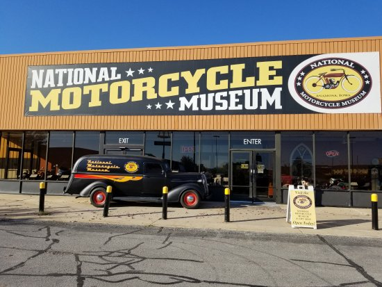Anamosa, IA: National Motorcycle Museum