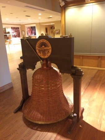 Dresden, OH: A bell in the museum