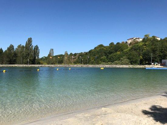Montaigu-de-Quercy, Francia: Clear water
