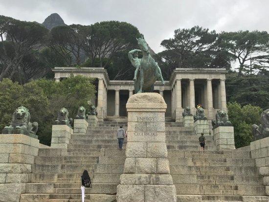 Rondebosch, Νότια Αφρική: Great sculpture work!