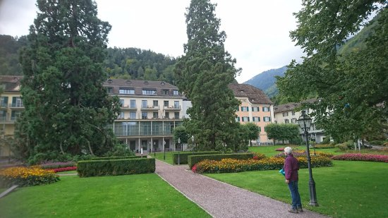 Grand Hotel Hof Ragaz: Das Hotel Ensemble