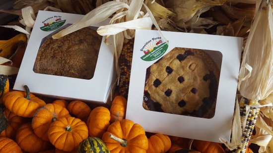 Hackettstown, NJ: Fresh baked pies that can be special,ordered for holidays. DOnaldson Farms is open until Dec 24.