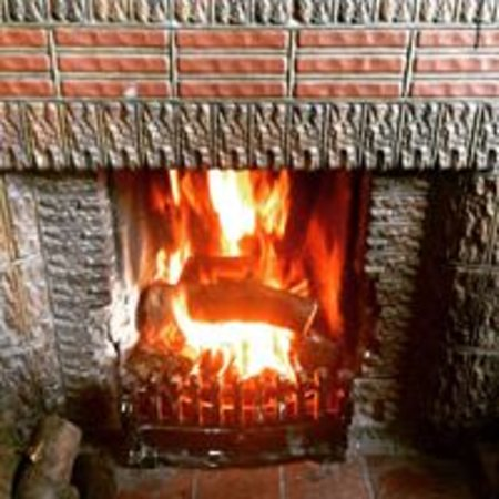 Retford, UK: Roaring Fire