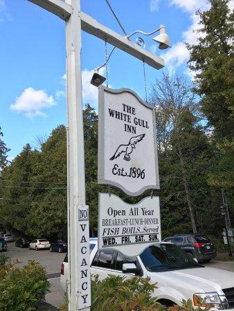White Gull Inn Fish Creek Menu Prices Restaurant