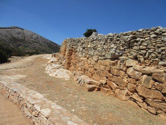 Σίφνος, Ελλάδα: ακρόπολη Αγίου Ανδρέα