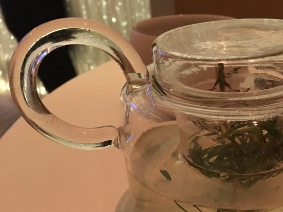 Alain Ducasse at The Dorchester: Rosemary infusion