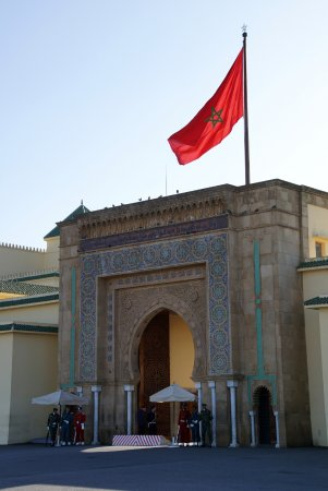 Royal Palace of Rabat : Pałac Królewski w Rabacie 1