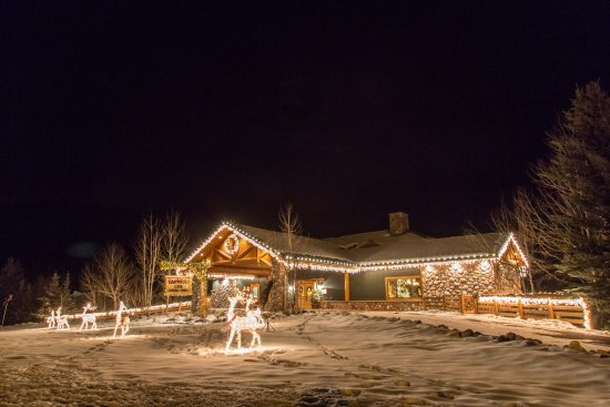 Rainbow Ranch Lodge Restaurant: Front Enterence
