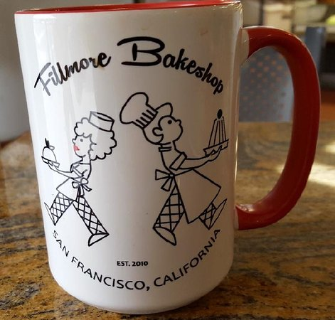 Fillmore Bakeshop: Coffee mug