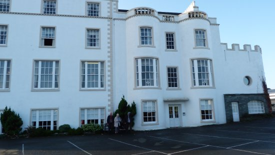 Stranraer, UK: The original part of the house.