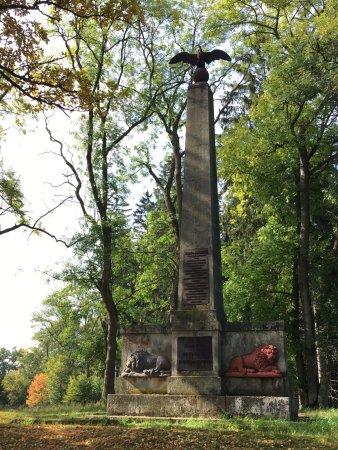 Lázne Kynzvart, República Checa: Obelisk - monument císaře Františka