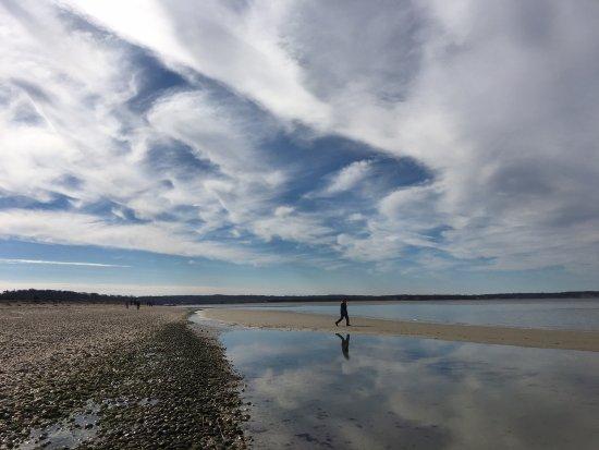 Stony Brook, Estado de Nueva York: Off-season at West Meadow Beach