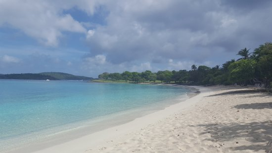 Caneel Bay, St. John: Scott Beach all to ourselves