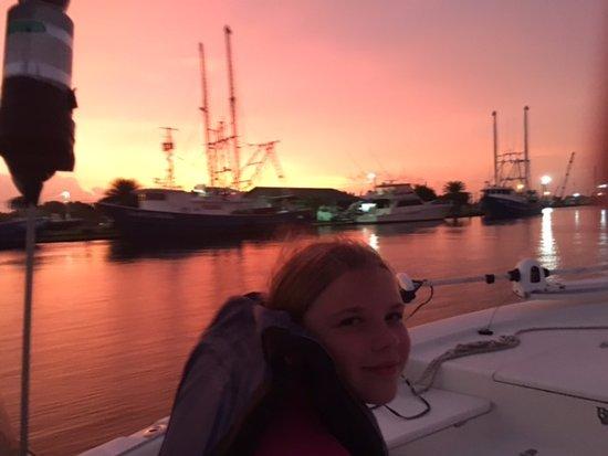 Barataria, لويزيانا: Sunrise ride on the bayou!