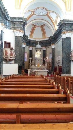 Kastel Luksic, كرواتيا: Inside the church, barogue is everything