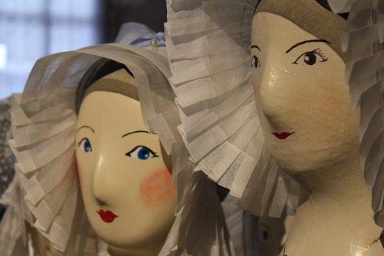Fresnay-Sur-Sarthe, France: Musée de la coiffe - Marottes