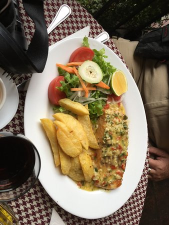 Cafe del Fraile: Garlic Salmon