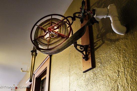 Dufur, Όρεγκον: fire safety!