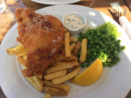เอสกิลสตูนา, สวีเดน: 炸魚薯條